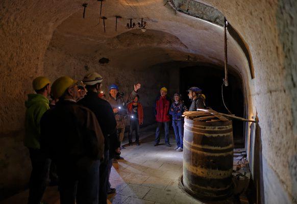 BierkennerTour durch die historischen Bamberger Bier-Katakomben.