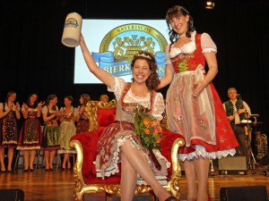 Maria Krieger - Bayerische Bierkönigin