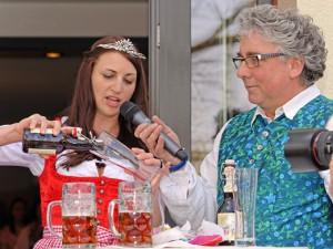 Sabrina Lang - Oberfränkische Bierkönigin