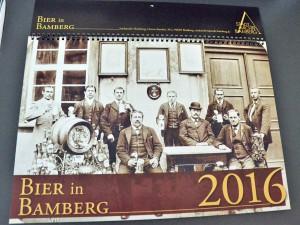 Deckblatt des Bamberger Bierkalenders