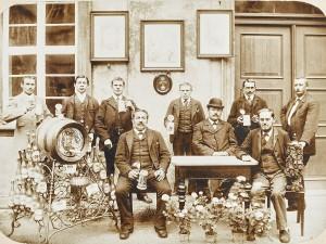Der Bamberger Bierkalender mit historischen Aufnahmen.
