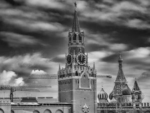 Selbst auf dem Kreml wird rege gebaut.