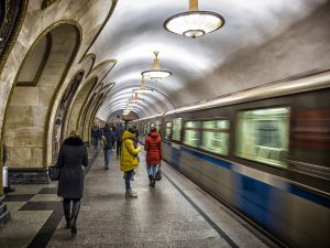 Eine Herausforderung für die Jury: Moskaus Metro – wunderschön, aber eben auch fremd.