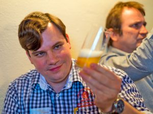 Innovativer Bier-Workshop und Romeis Brauertag: Karl-Ludwig Rieck, Weyermann