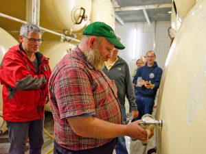 Auf der BierkennerTour Spezial darf natürlich auch ein frisch gezapftes Bier nicht fehlen.
