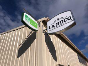 Die Brauerei Hocq im Rodezer Vorort Saint-Christophe-Vallon.