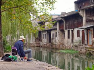 Die Häuser sind teilweise über 500 Jahre alt
