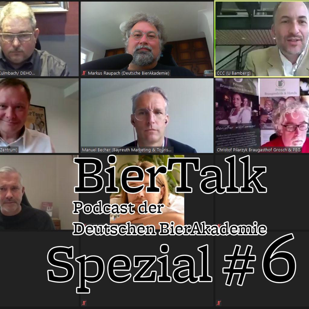 BierTalk Spezial 6 – Podiumsdiskussion zur Lage der Gastronomie in der Corona-Krise