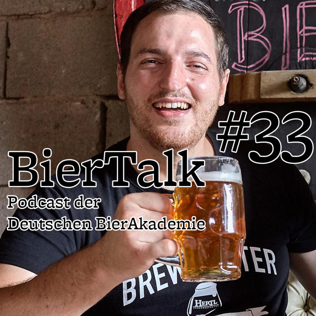 BierTalk 33 – Interview mit David Hertl, Braumanufaktur Hertl, aus Thüngfeld