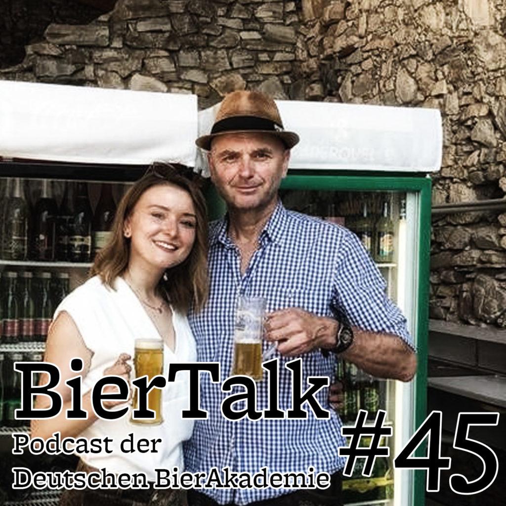 BierTalk 45 – Interview mit Lena und Bernd Mara von der Stubalmbrauerei aus Köflach, Österreich