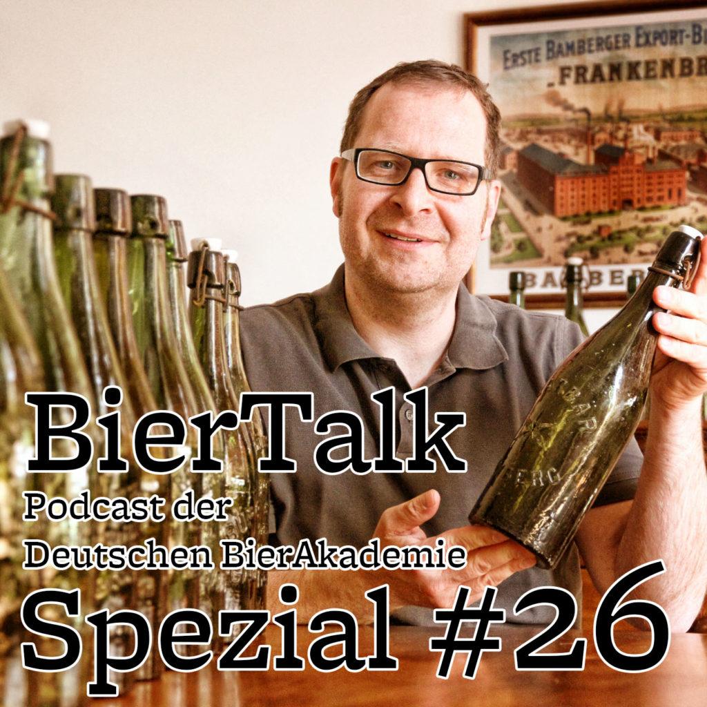 BierTalk Spezial 26 – Interview mit Christian Fiedler, Bier-Autor und Bierflaschensammler aus Bamberg